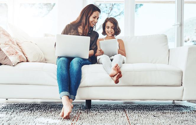 Мога ли да използвам безжична връзка вкъщи?